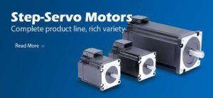 step servo motors